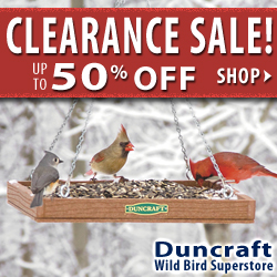 Shop Duncraft Wildbird Superstore Clearance Sale and Save up to off!
