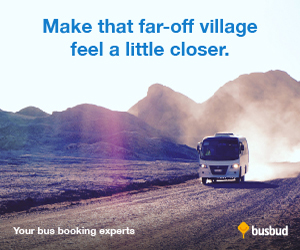 Make that Far-Off Village Feel a Little Closer at Busbud.com!