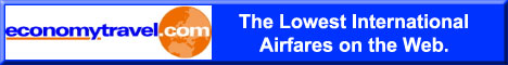 Lowest International Airfare Online!