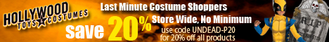 20% Off The Entire Store with UNDEAD-P20