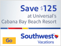 Save $125 at Universal's Cabana Bay Beach Resort