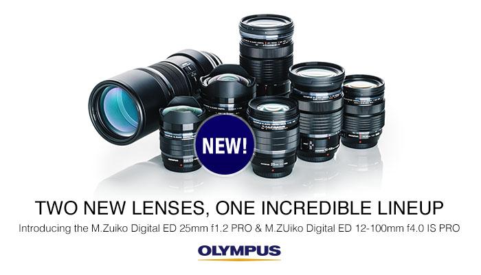 US: Olympus Pro Lenses Billboard 700x400