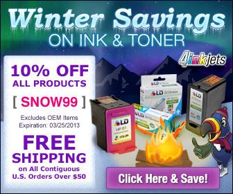 Inkjet & Laser Printer / Copier Toner Cartridges Coupons