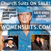 women church suits