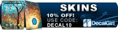10% OFF DecalGirl.com Coupon Code DECAL10
