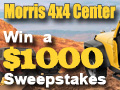 Enter to Win $1,000.00 from Morris 4x4