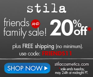 300x250 Stila 20% Off FriendsFam
