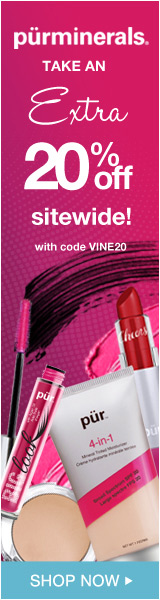 Enter promo code during checkout and receive 20% off your entire order sitewide at Purminerals.com!