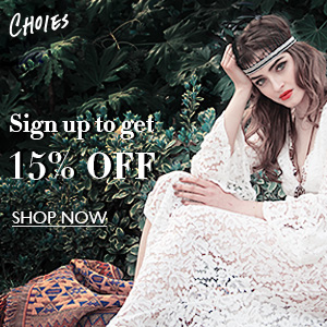 15% Off 1st Order at Choies