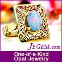 JEGEM.com ~ October Birthstone: Opal Jewelry