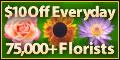$10 Off All Online Flower Orders