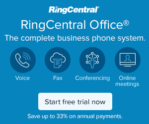 RingCentral Voice, Fax Text and Conferencing