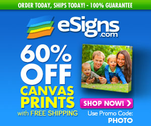 esigns canvas prints