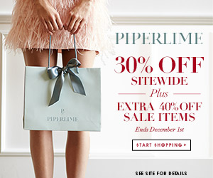 Starting 11/30, 30% off SiteWide PLUS an extra 40% off sale items at Piperlime.com!
