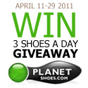 3 Shoes A Day Giveaway