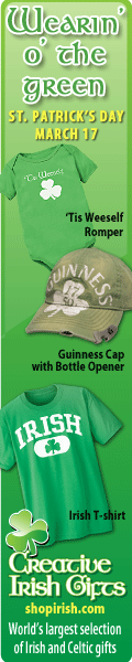 Get ready for St. Paddy's with Shopirish.com