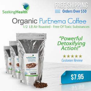 Organic PurEnema Coffee,Powerful detoxifying action