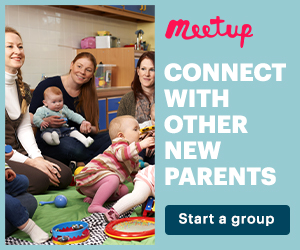 Connect with other new parents. Start a group.