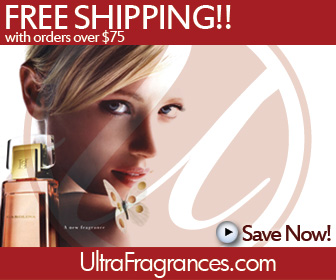 free shipping at Ultra Fragrances.com