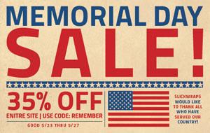 35% Off Memorial Day