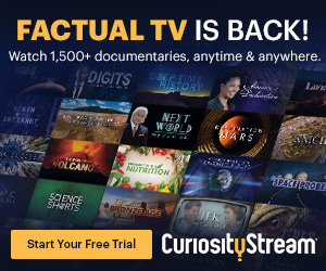 CuriosityStream Coupon Codes