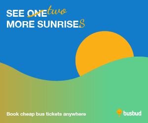 See More Sunrises! Book Cheap Bus Tickets Anywhere on Busbud.com!