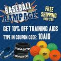 10% off Wood Baseball Bats.