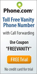 Get your free vanity number from Phone.com