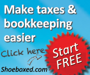 Make taxes & bookkeeping easier with Shoeboxed.com