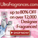 80% OFF at UltraFragrances.com