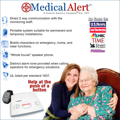 Help at the push of a button with Medical Alert