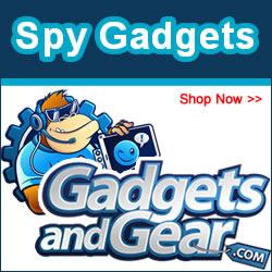 Real Spy Gear & Spy Gadgets