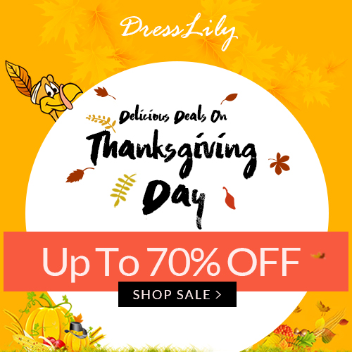Thank You All: Up to 70% OFF Thanksgiving