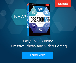 New! Roxio Creator NXT 3