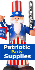 Patriotic Party Supplies - PartyBell.com