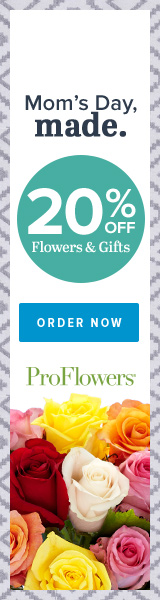 20% off Mother's Day Flowers & Gifts at ProFlowers (min $39)