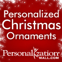 Personalized Ornaments from PersonalizationMall.com