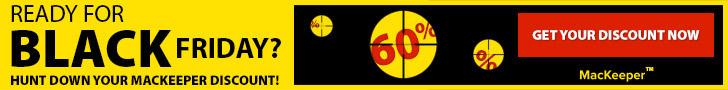 MacKeeper Black Friday 60% Off