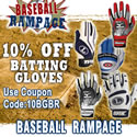 10% off Batting Gloves. Use Coupon 10BGBR.