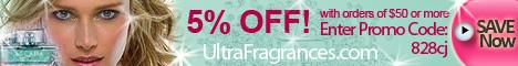 5% OFF at Ultrafragrances.com