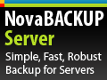 NovaBackup Server On Sale