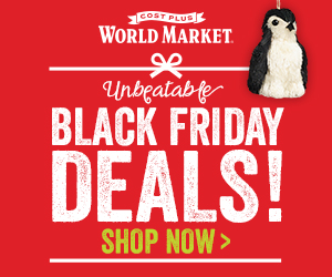 Black Friday Deals: Unbeatable Black Friday deals at World Market! Save 50% on hundreds of products