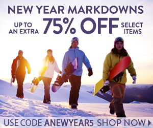 New Year Markdowns: Up to an Extra 75% off Select Items!