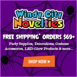 Free Shipping on Halloween Accessories, Supplies & Glow Products w SHIP69NOW