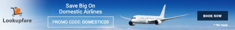 Domestic flight deals at Lookupfare