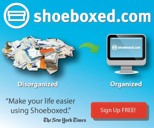 Disorganized to Organized plus NYT - Shoeboxed.com