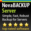 NovaBackup Server - Save 20%
