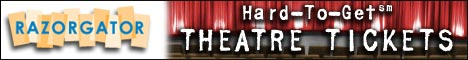 Theater Tickets at RazorGator