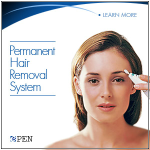 Verseo ePen hair removal system
