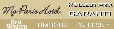 meilleur prix garanti sur My Paris Hotel
